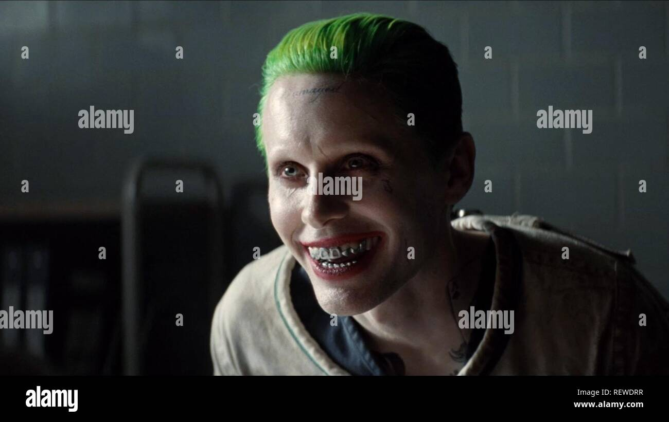 JARED LETO SUICIDE SQUAD (2016) Stock Photo
