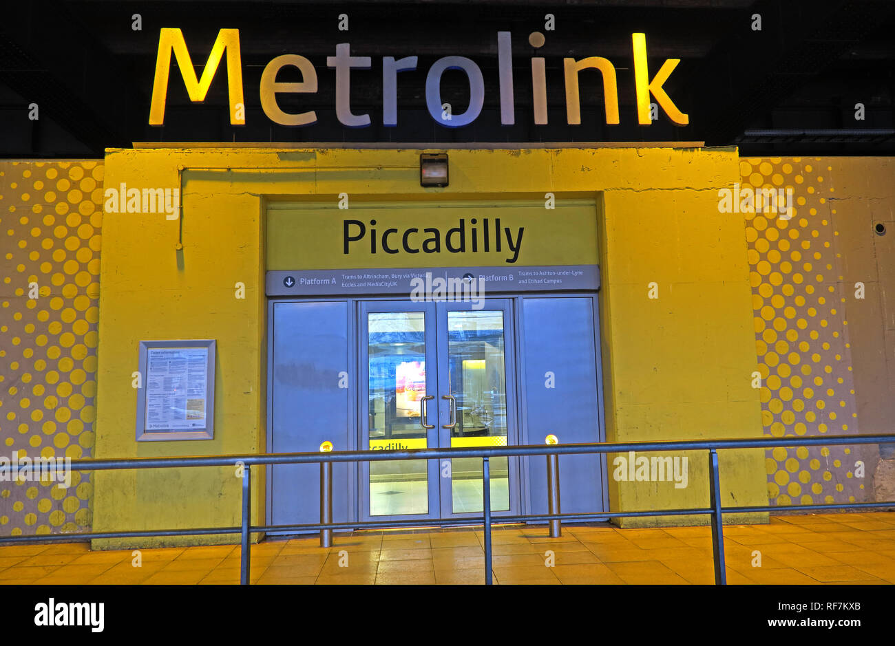 Manchester City Centre,Manchester,City Centre,city,NQ,NQ4,Northern Quarter,North West,England,UK,GoTonySmith,HotpixUK,@HotpixUK,buildings,streets,Station,Railway Station,Rail,Terminal,Manchester Piccadilly Station,Network Rail,NetworkRail,Tram station,yellow,Entrance,door,doorway,gate,network,M1 2QF,trams,Tram Network,Light Rail,Light Rail Station,logo,Piccadilly Metrolink Stop,Piccadilly Metrolink,stop