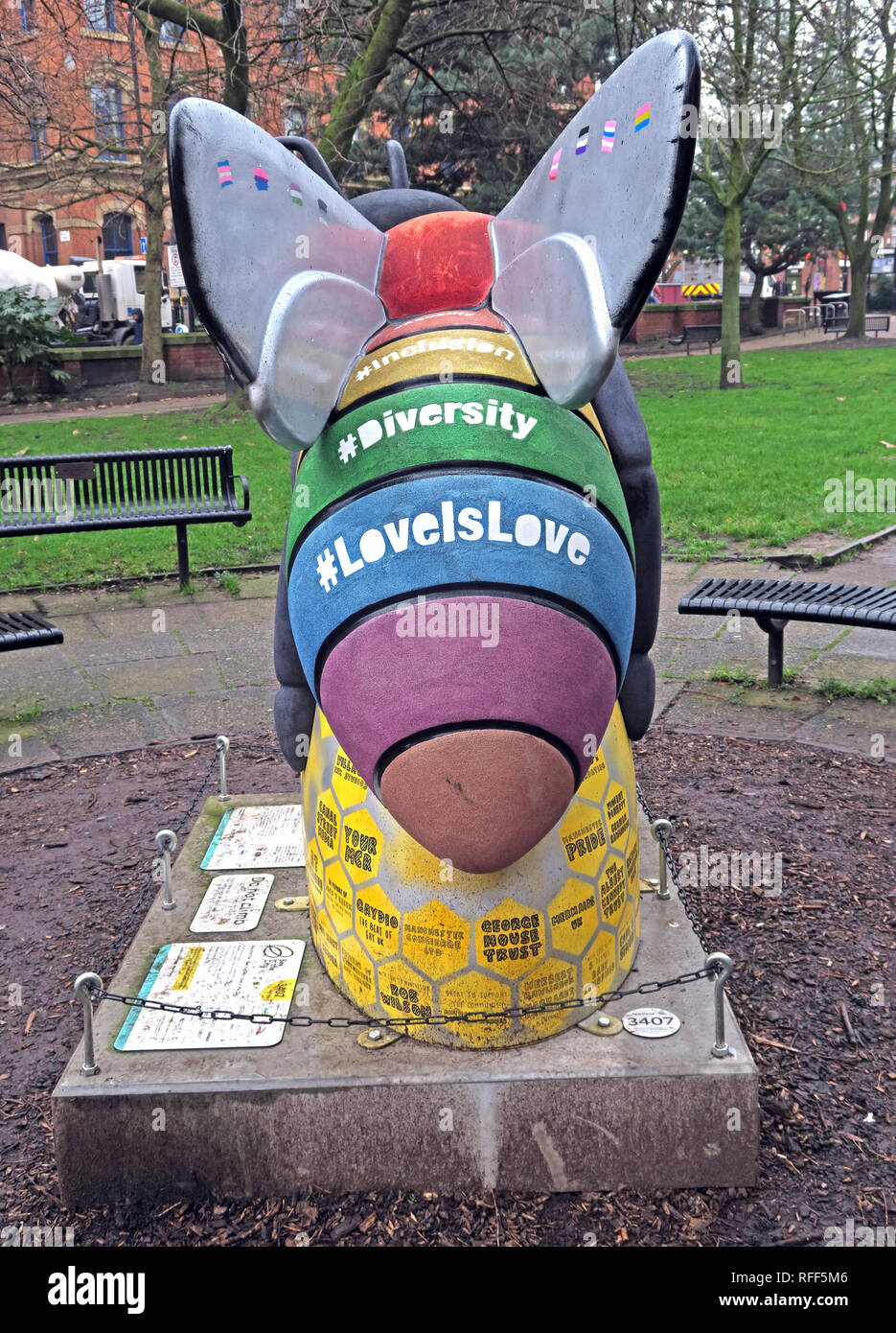 Manchester,City centre,@HotpixUK,HotpixUK,GoTonySmith,North West England,UK,England,Canal St,gay,village,Sackville,LGBT,community,Gay Bee,Love Is Love,Alan Turing,Alan,Turing,LBGT Community,LGBTQ,Manchester M1 3HB,M1,rainbow,rainbow bee,Turing head,sponsored,LGBTQ+ community Bee in Sackville Gardens,LGBTQ+ community,Bee in Sackville Gardens,LGBTQ+,Sackville Gardens Bee,Bee in The City MCR,MCR,LGBT Foundation,Manchester Pride,Heart of Manchesters Gay Village,Queen Bee,CJTaylord Art Ben Sedman Photography,Wild in Art
