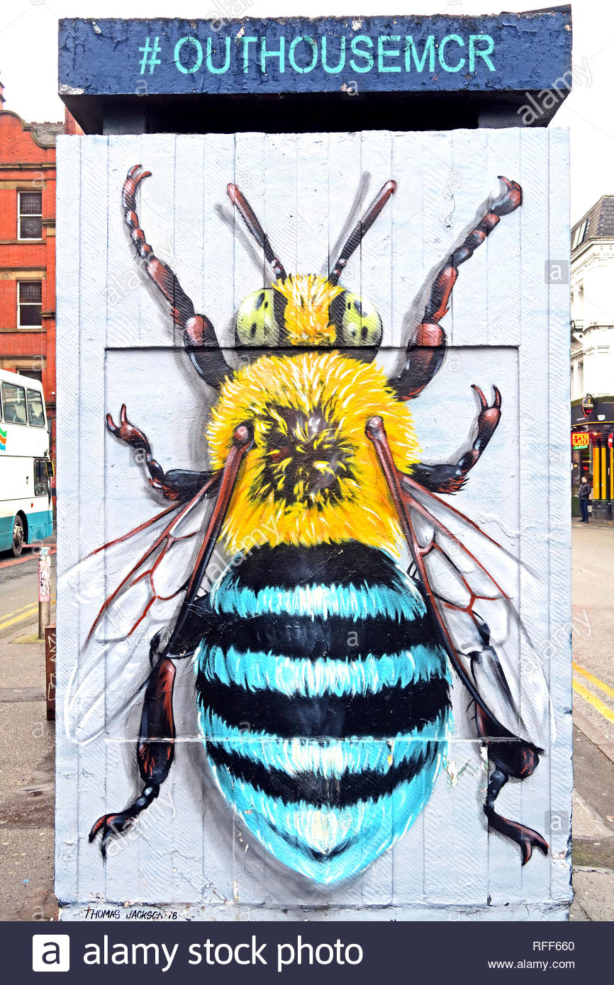 Manchester,City centre,city,@HotpixUK,HotpixUK,GoTonySmith,North West England,UK,England,Bee,Manchester Bee,Mcr,Bees,Busy Bee,symbol,art,artist,mural,street artist,street art,M1,North West,Arena bombing,manchester arean bomb,manchester arena bomb,manchester arena bombing