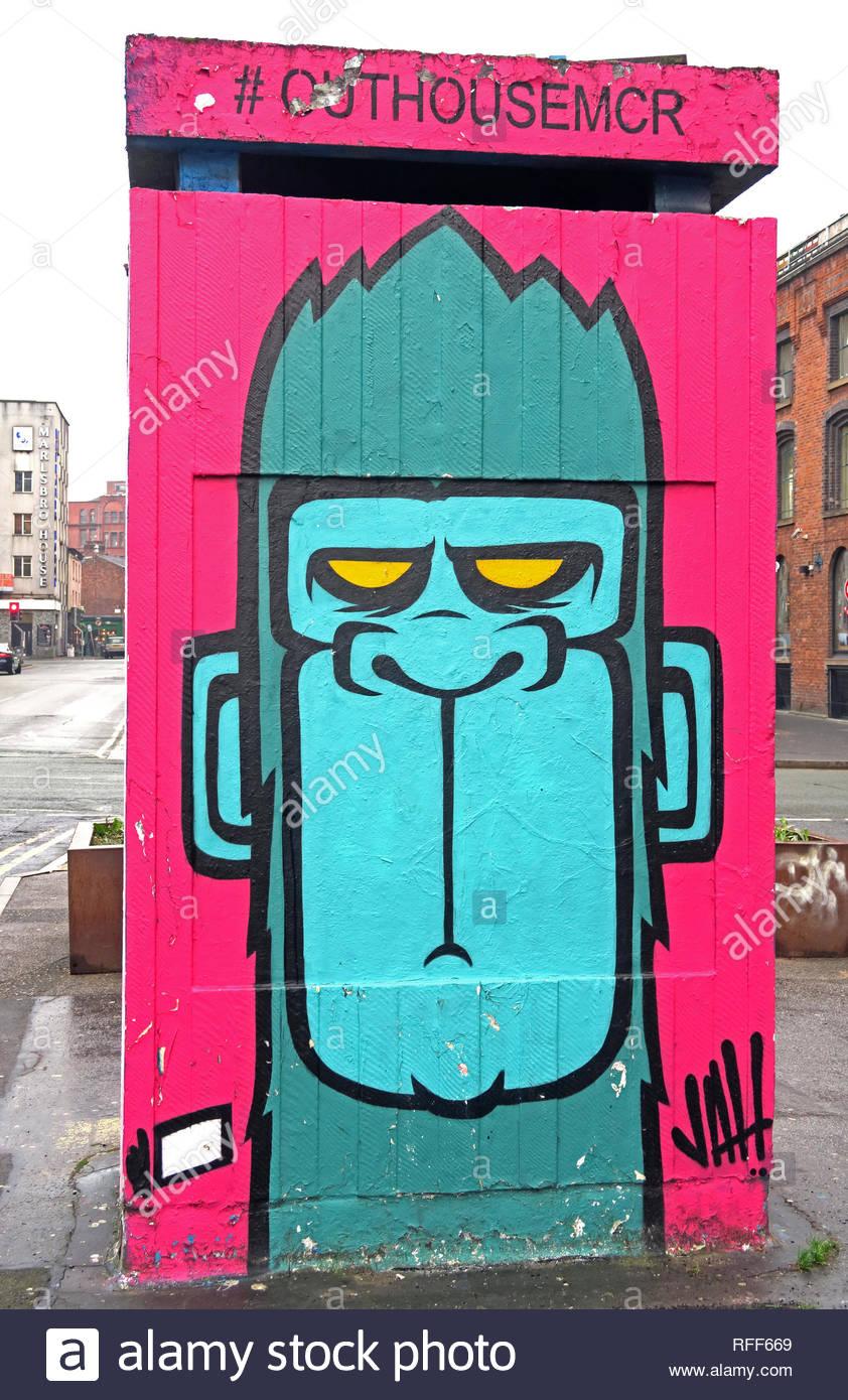 Manchester,City centre,city,@HotpixUK,HotpixUK,GoTonySmith,North West England,UK,England,mural,street artist,street art,artist,art,M1,North West