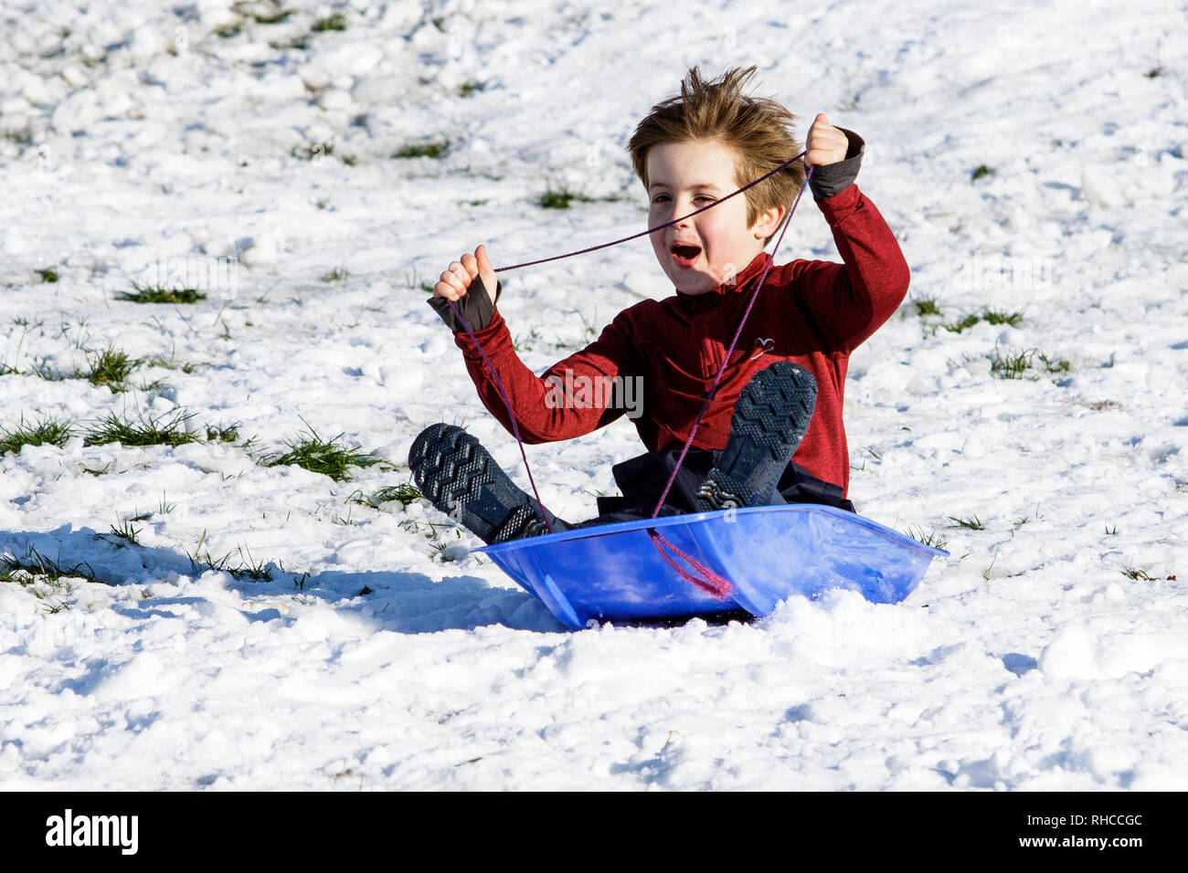 chippenham-wiltshire-uk-2nd-february-2019-a-boy-enjoying-the-snow-before-it-thaws-is-pictured-in-a-local-park-in-chippenham-as-he-speeds-down-a-hill-on-a-sledge-credit-lynchpicsalamy-live-news-RHCCGC.jpg
