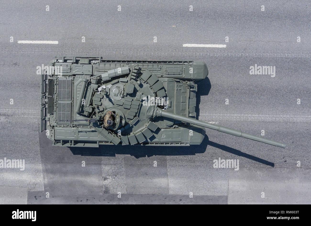 Т-72Б3 вид сверху