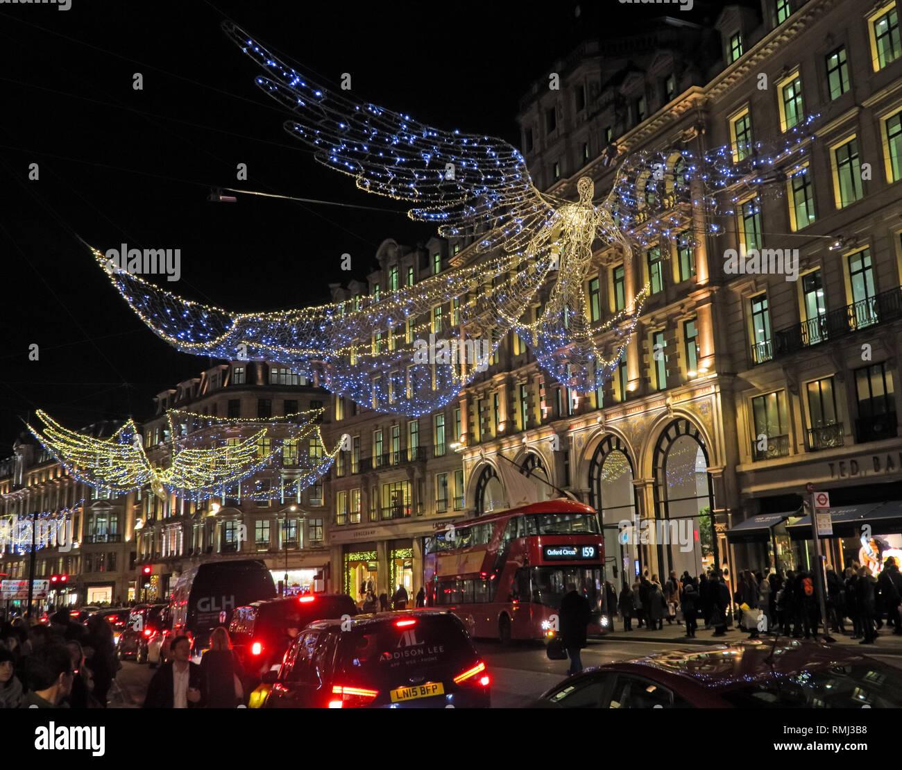@HotpixUK,HotpixUK,GoTonySmith,England,UK,Neon,lights,night,dusk,neon lights,sign,advert,advertising,bright,lighting,London,South East England,City Centre,City,tourist,tourism,travel,London bus,Mayfair,W1B 2EN,angel,Xmas lights,Xmas,christmas,shops,retail,shopping,flagship retail stores,flagship,Liberty,Hamleys,Jaeger,Piccadilly Circus