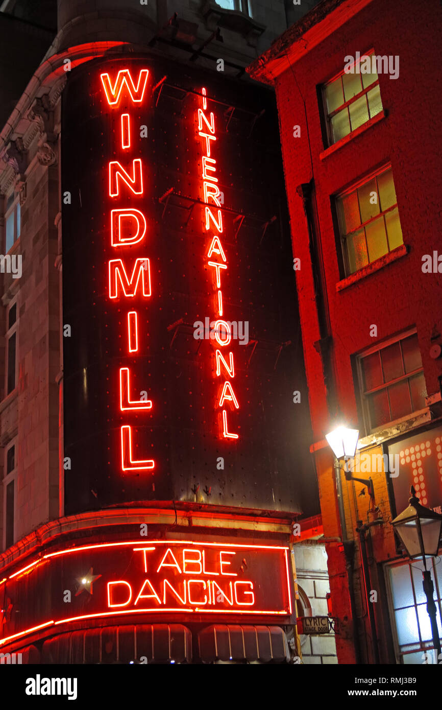 @HotpixUK,HotpixUK,GoTonySmith,England,UK,Neon,lights,night,dusk,neon lights,sign,advert,advertising,bright,lighting,London,SoHo,South East England,City Centre,City,tourist,tourism,travel,bar,pub,red neon,district,Great Windmill Street,variety,revue,theatre,nude tableaux vivants,nude,strip joint,nightclub,Gentlemens club,exploitation,outside,red,Private dances