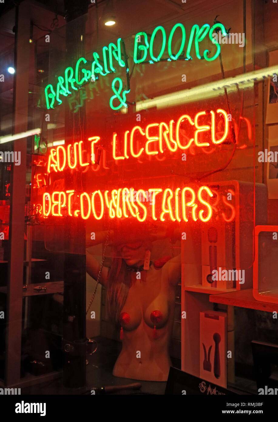 @HotpixUK,HotpixUK,GoTonySmith,England,UK,lights,night,dusk,neon lights,sign,advert,bright,lighting,SoHo,South East England,City Centre,City,tourist,tourism,travel,neon sign,evening,night time,star,music,Downstairs,Neon Sign,Soho,DVD,Books,Adult,XXX,dirty,city centre,licensed sex shop,licensed,adult,downstairs