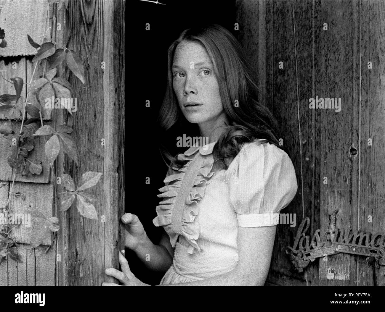 SISSY SPACEK, BADLANDS, 1973 Stock Photo