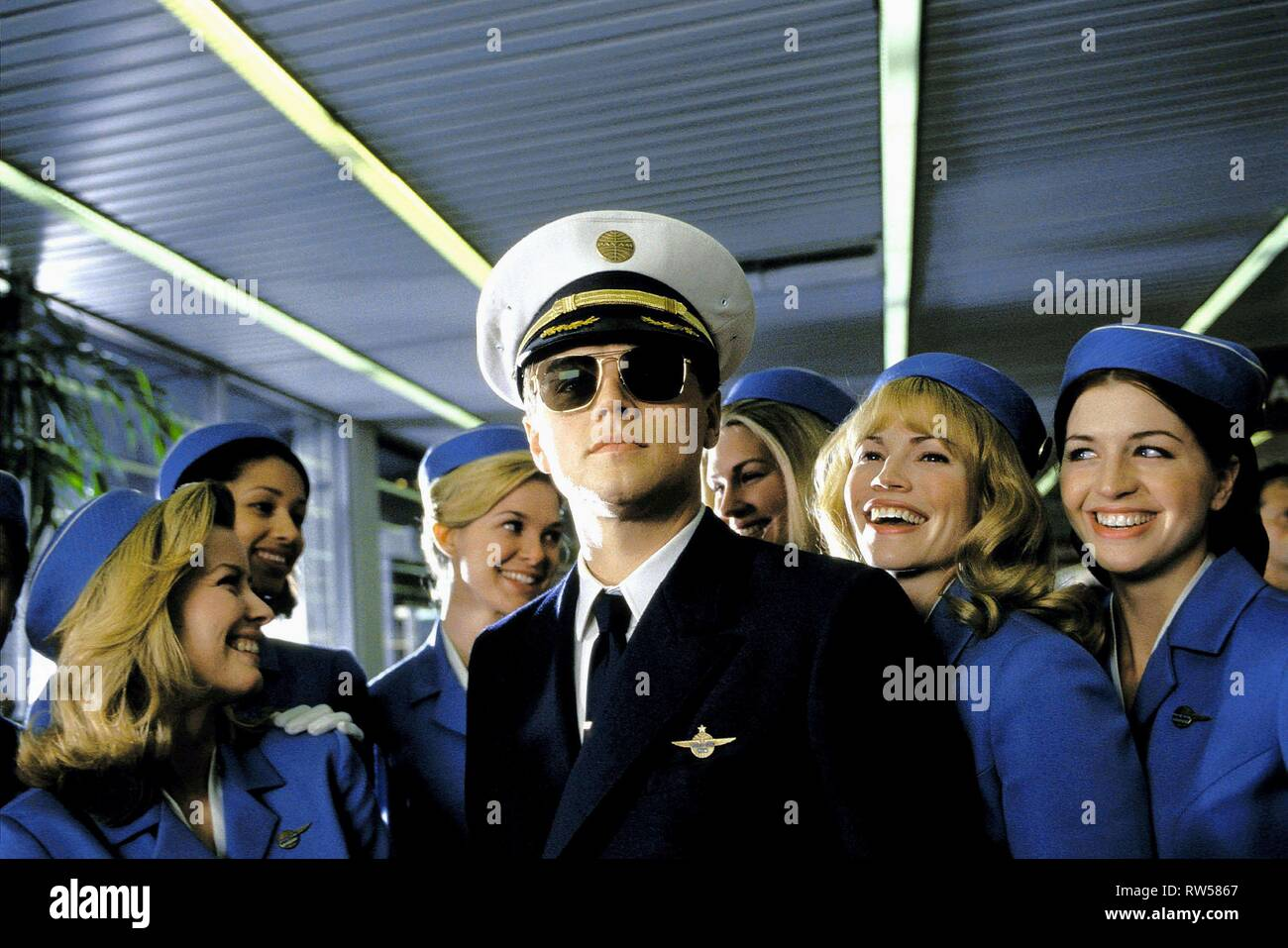 LEONARDO DICAPRIO, CATCH ME IF YOU CAN, 2002 Stock Photo
