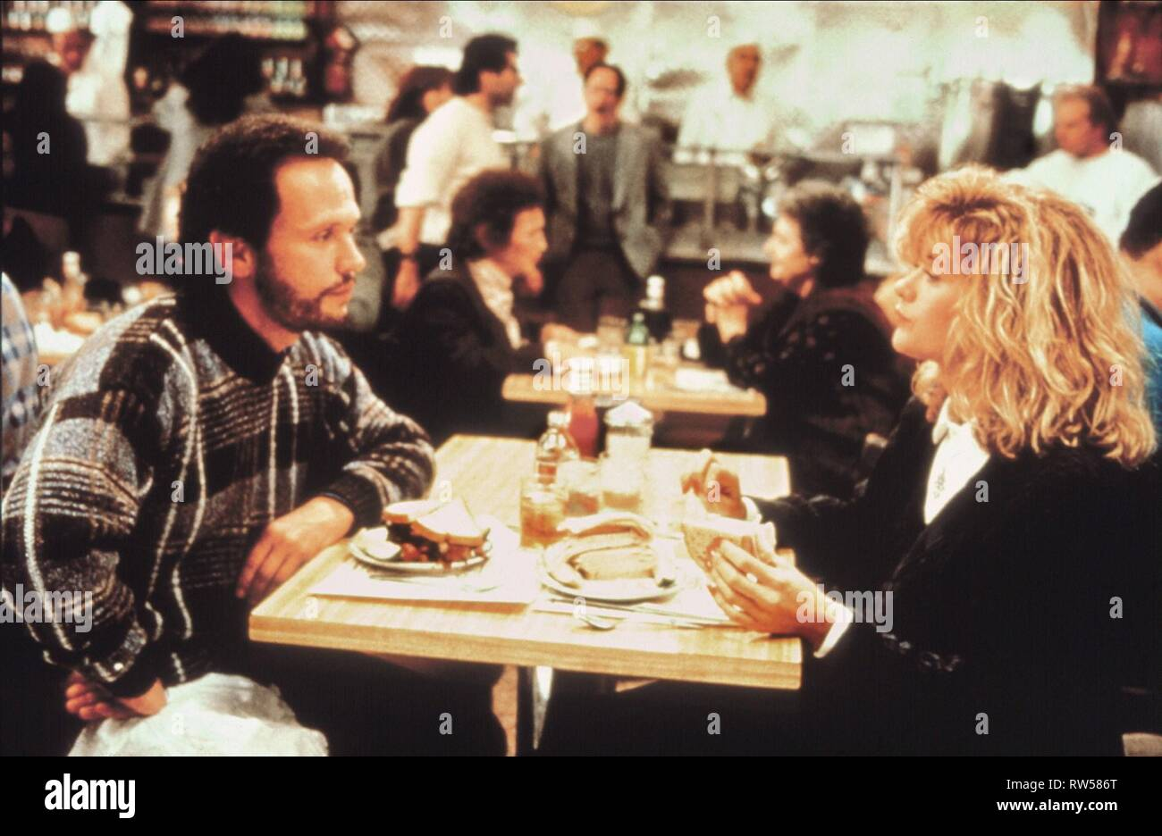 CRYSTAL,RYAN, WHEN HARRY MET SALLY..., 1989 Stock Photo