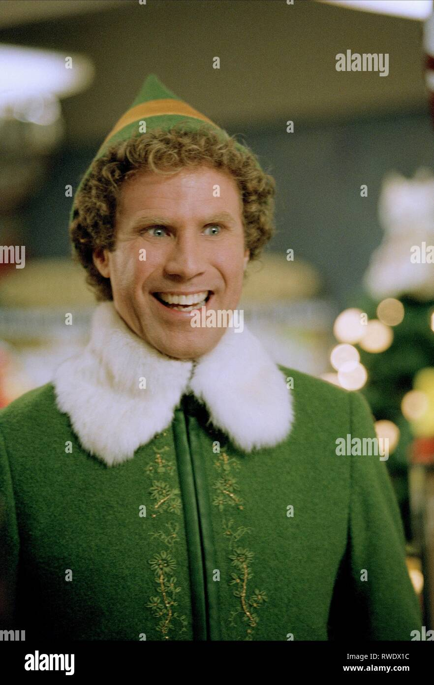 WILL FERRELL, ELF, 2003 Stock Photo