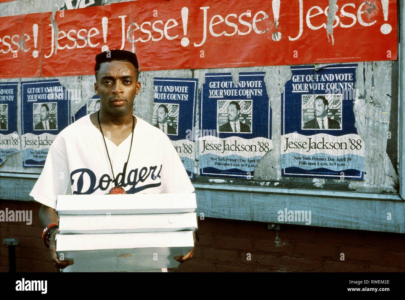 SPIKE LEE, DO THE RIGHT THING, 1989 Stock Photo