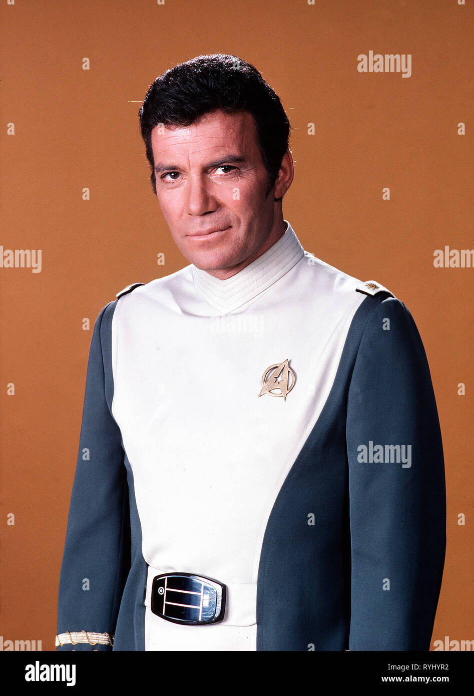 WILLIAM SHATNER, STAR TREK: THE MOTION PICTURE, 1979 Stock Photo