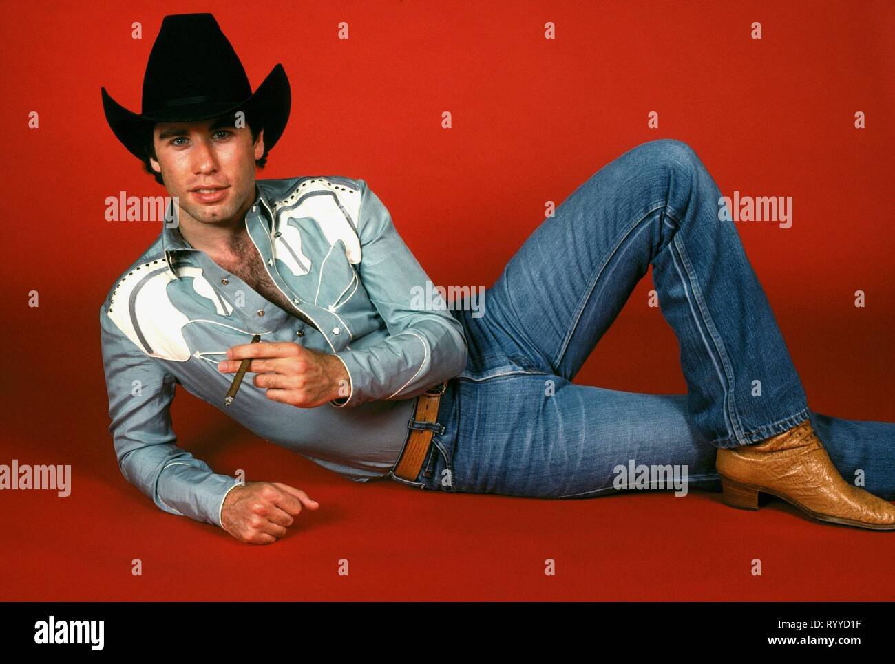 JOHN TRAVOLTA, URBAN COWBOY, 1980 Stock Photo