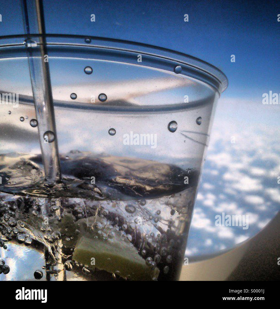 Mile high GnT club - Stock Image