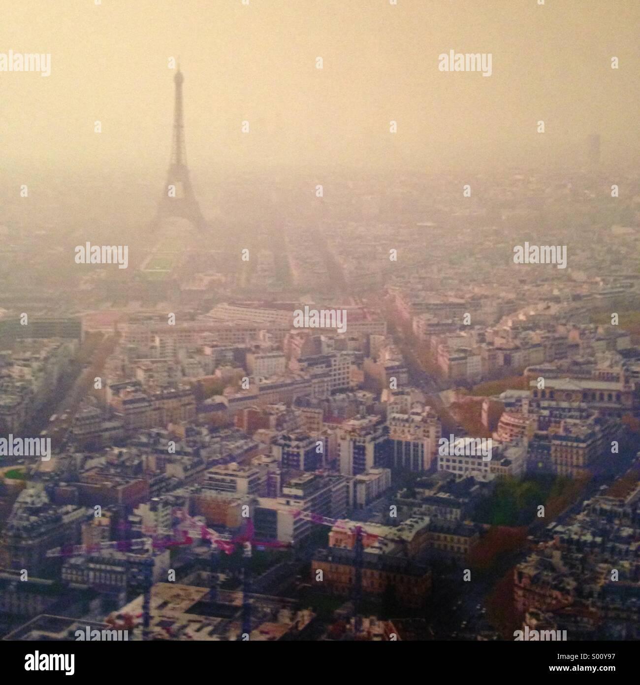 View of Paris - Stock Image