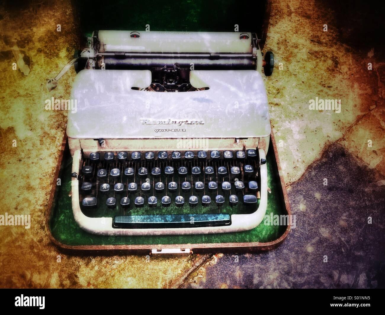 Typewriter - Stock Image