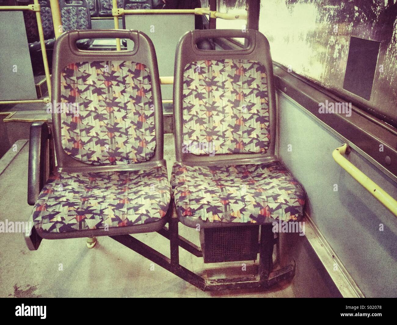 Bus chairs - Stock Image