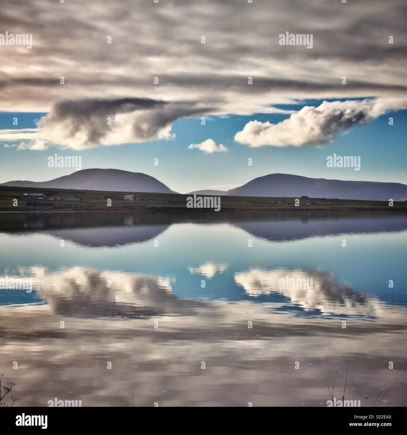 Reflection... - Stock Image