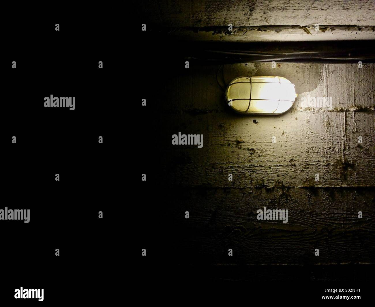 The Lamp - Stock Image