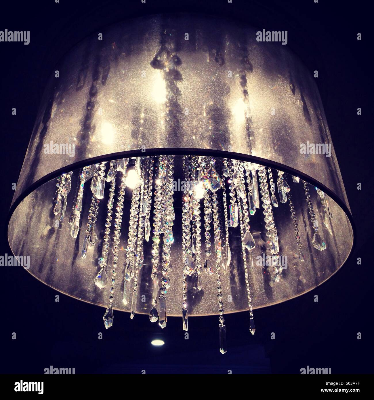 Modern lamp - Stock Image