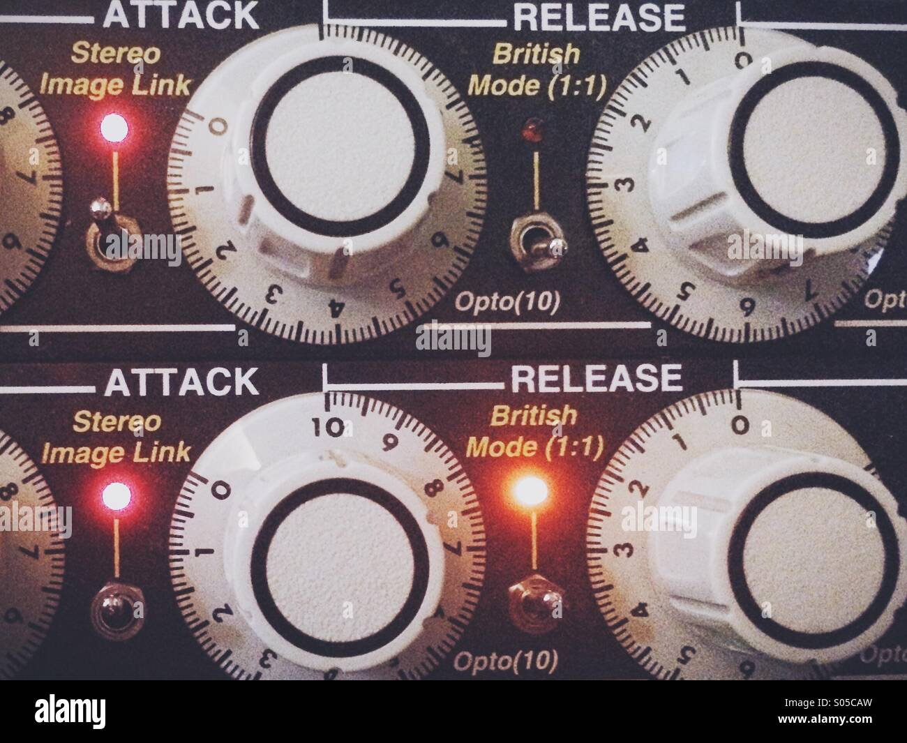 Attack Release - Stock Image