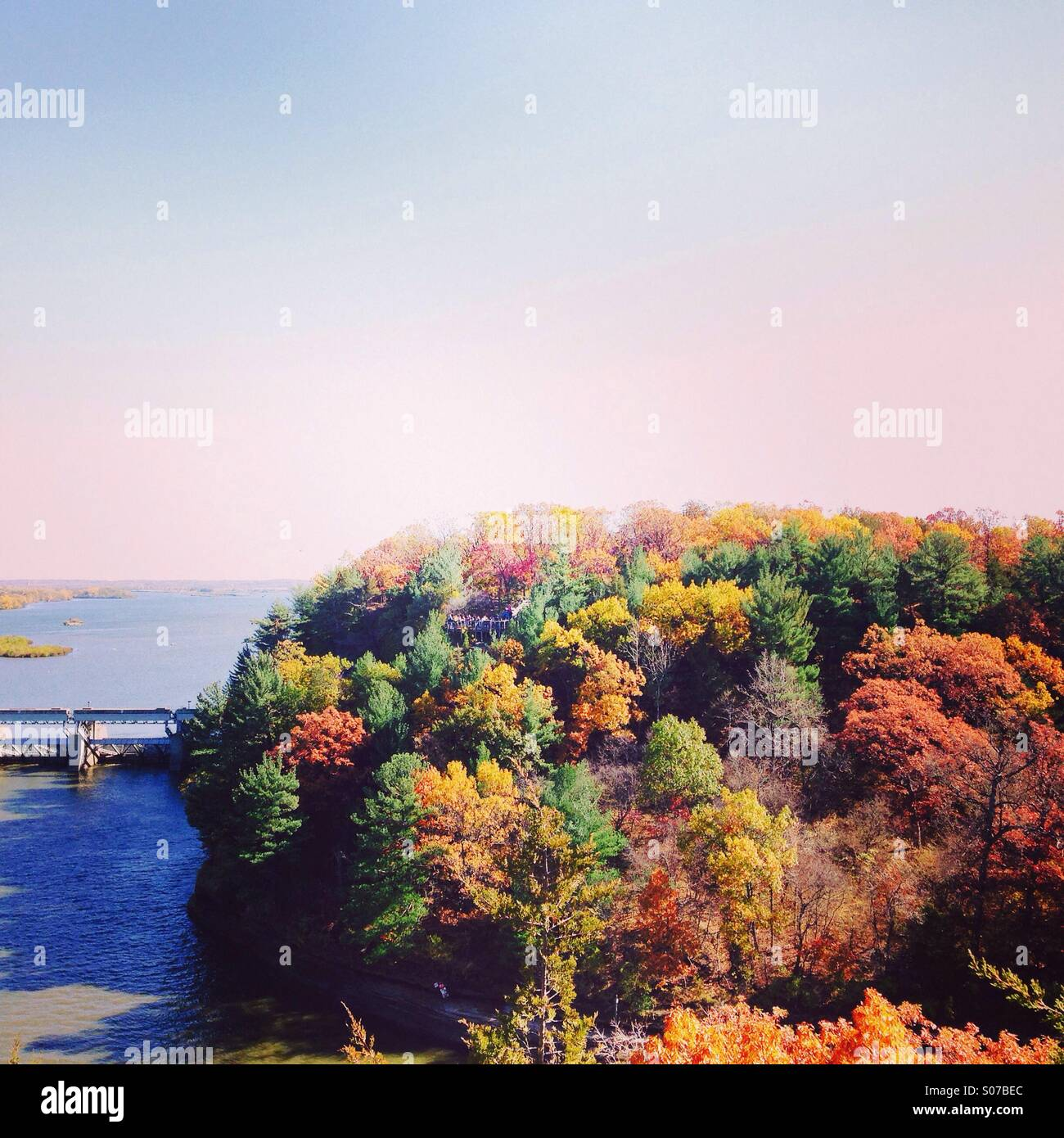 Starved Rock state park - Stock Image