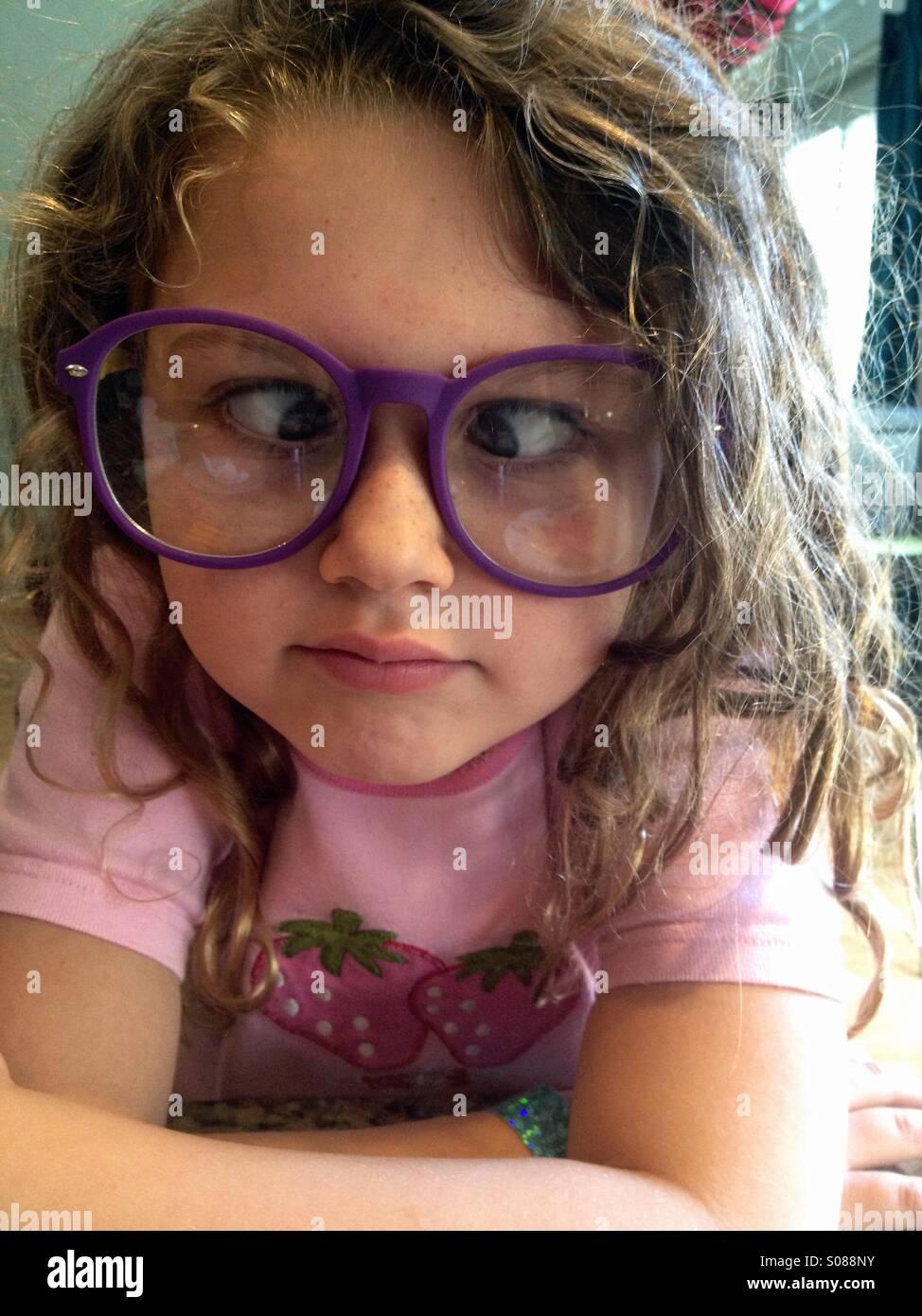 Große Brille Mädchen — foto 2