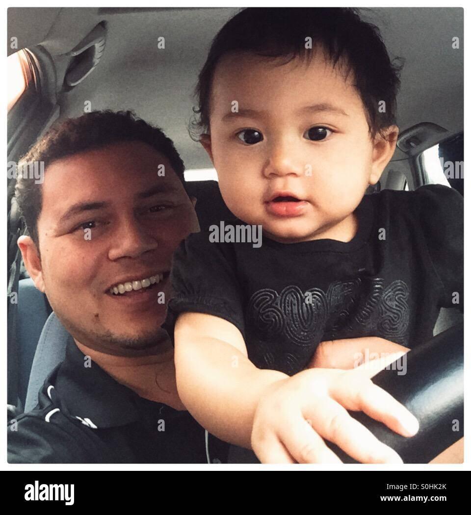 Baby drive - Stock Image