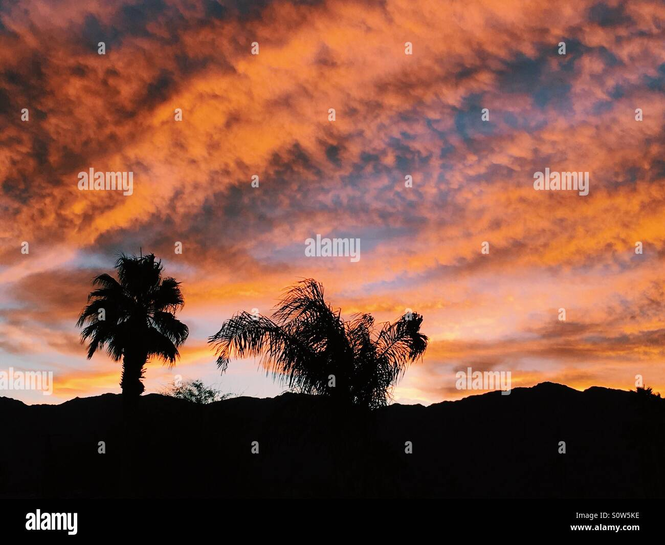 sunset-in-la-quinta-california-usa-S0W5K