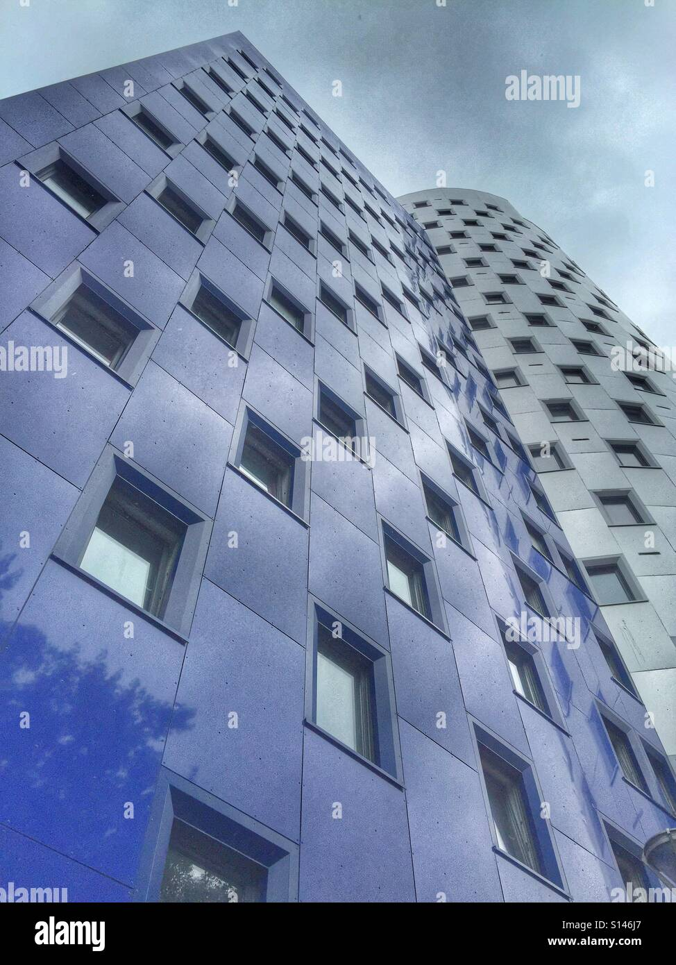 Tall building in London - Stock Image