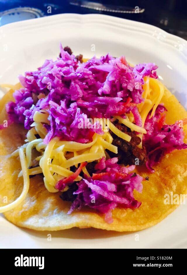 Taco Stock Photo
