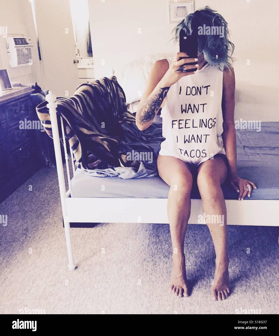 Feelings. Stock Photo