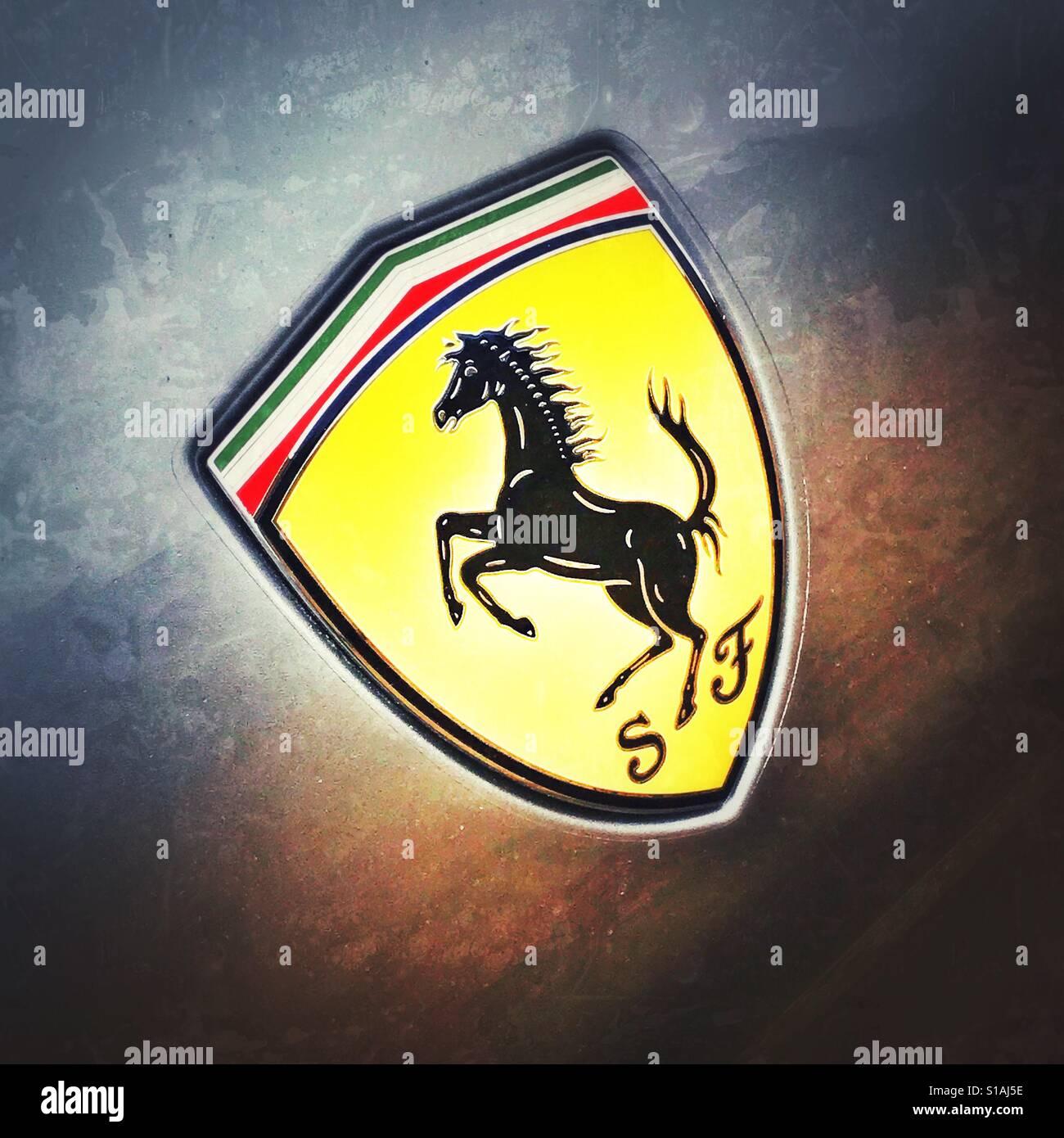 A Ferrari Logo Stock Photo 310635066 Alamy