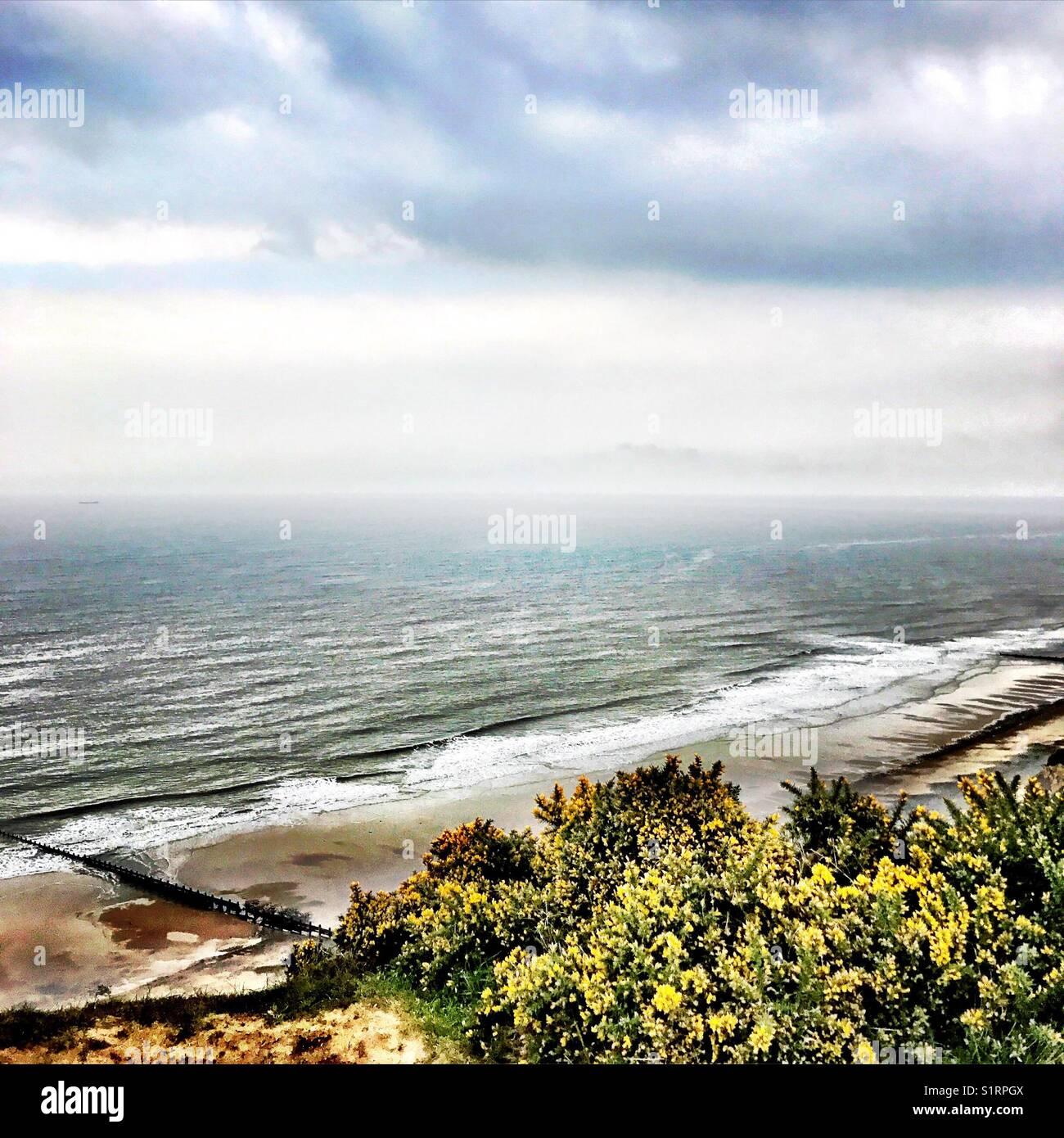 Beach scenic - Stock Image