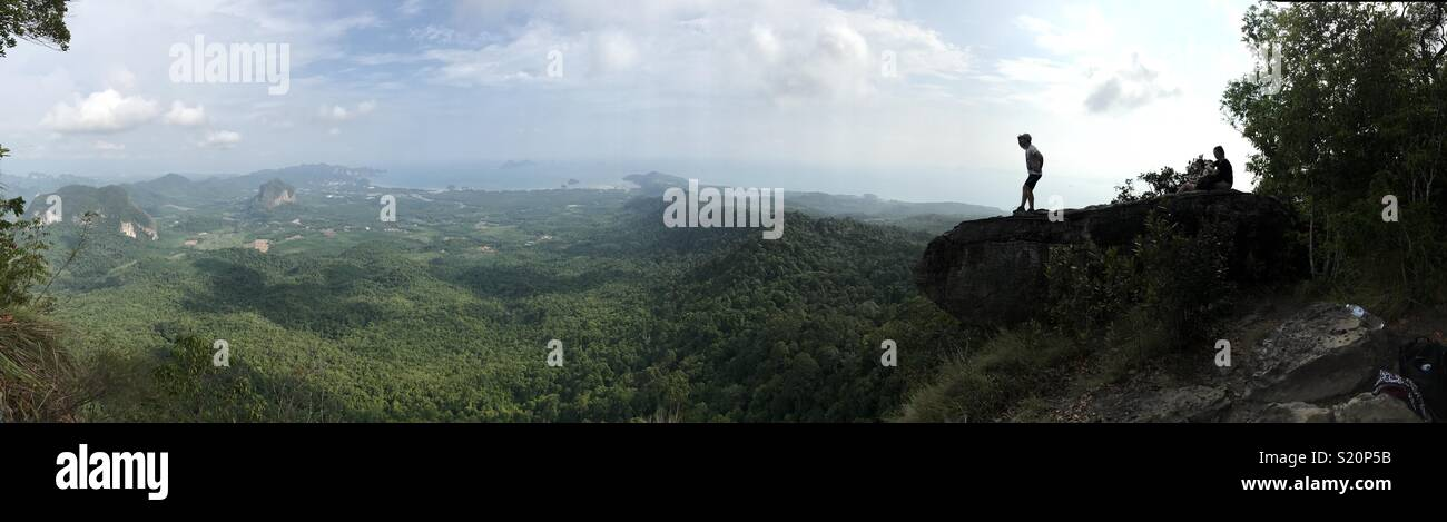 Dragon crest mountain, krabi, Thailand - Stock Image
