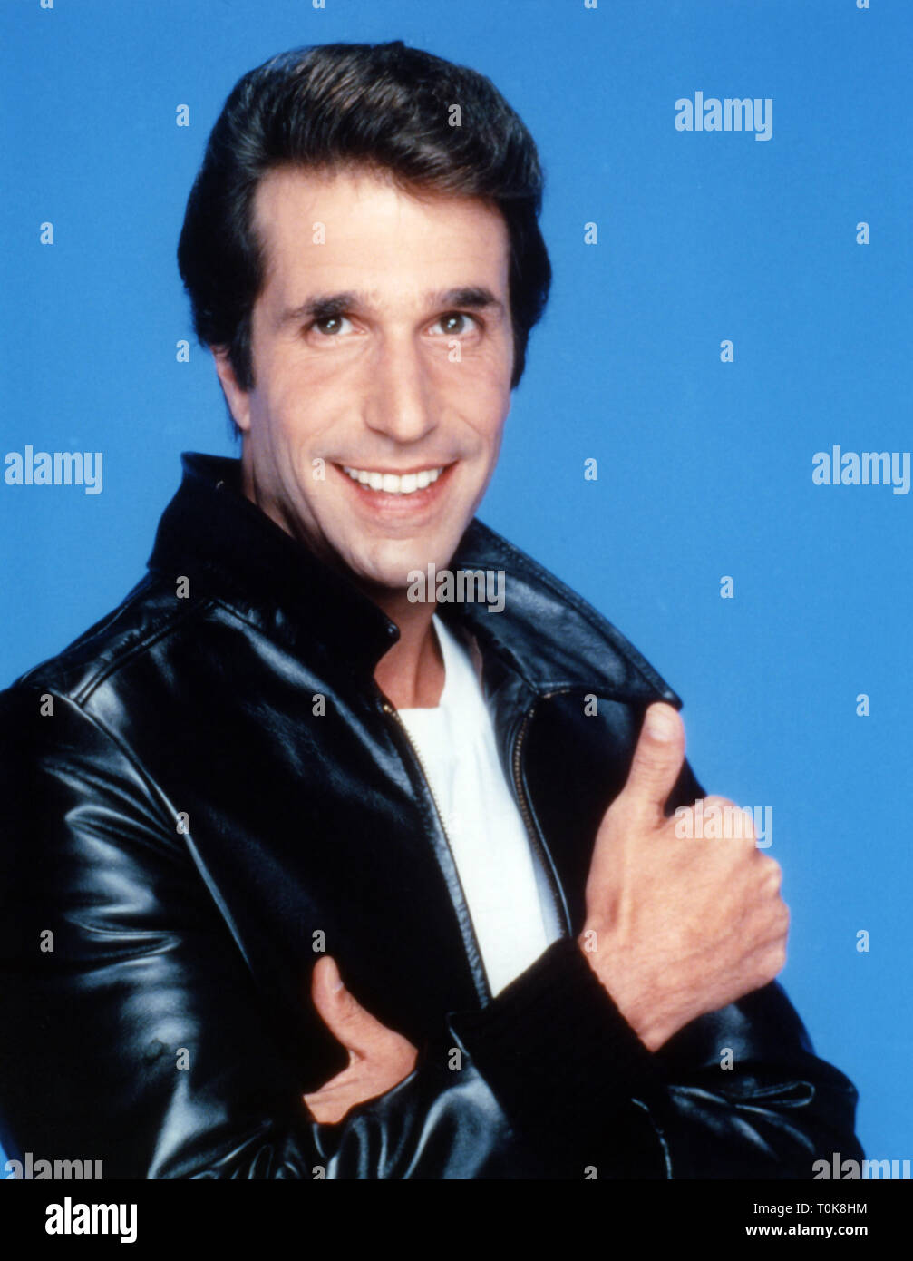 HENRY WINKLER, HAPPY DAYS, 1974 Stock Photo