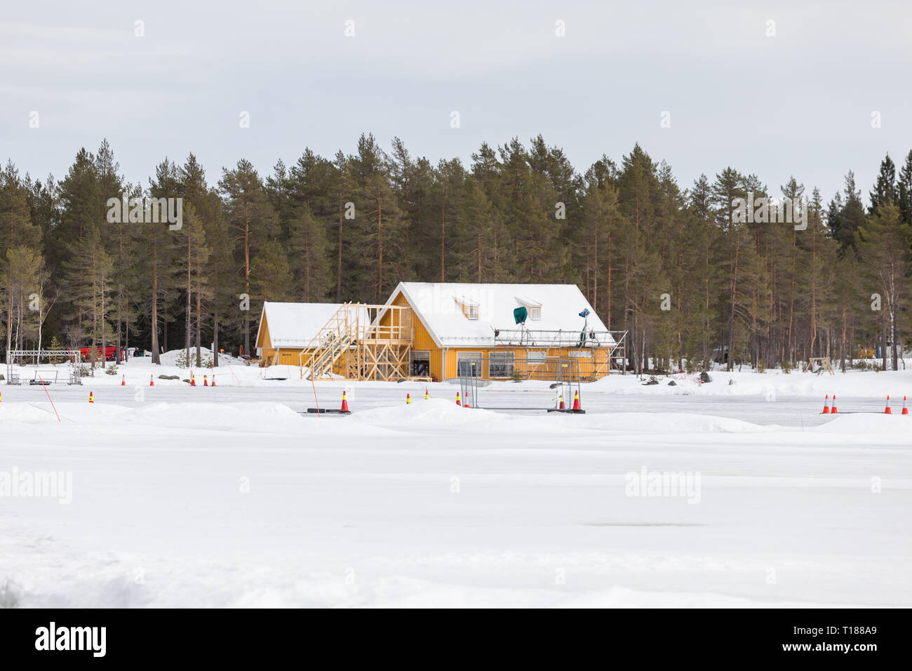 hakadal-norway-24th-march-2019-final-preparations-taking-place-ready-to-start-filming-the-25th-james-bond-film-in-the-forest-north-of-oslo-norway-credit-paul-smithalamy-live-news-T188A9.jpg