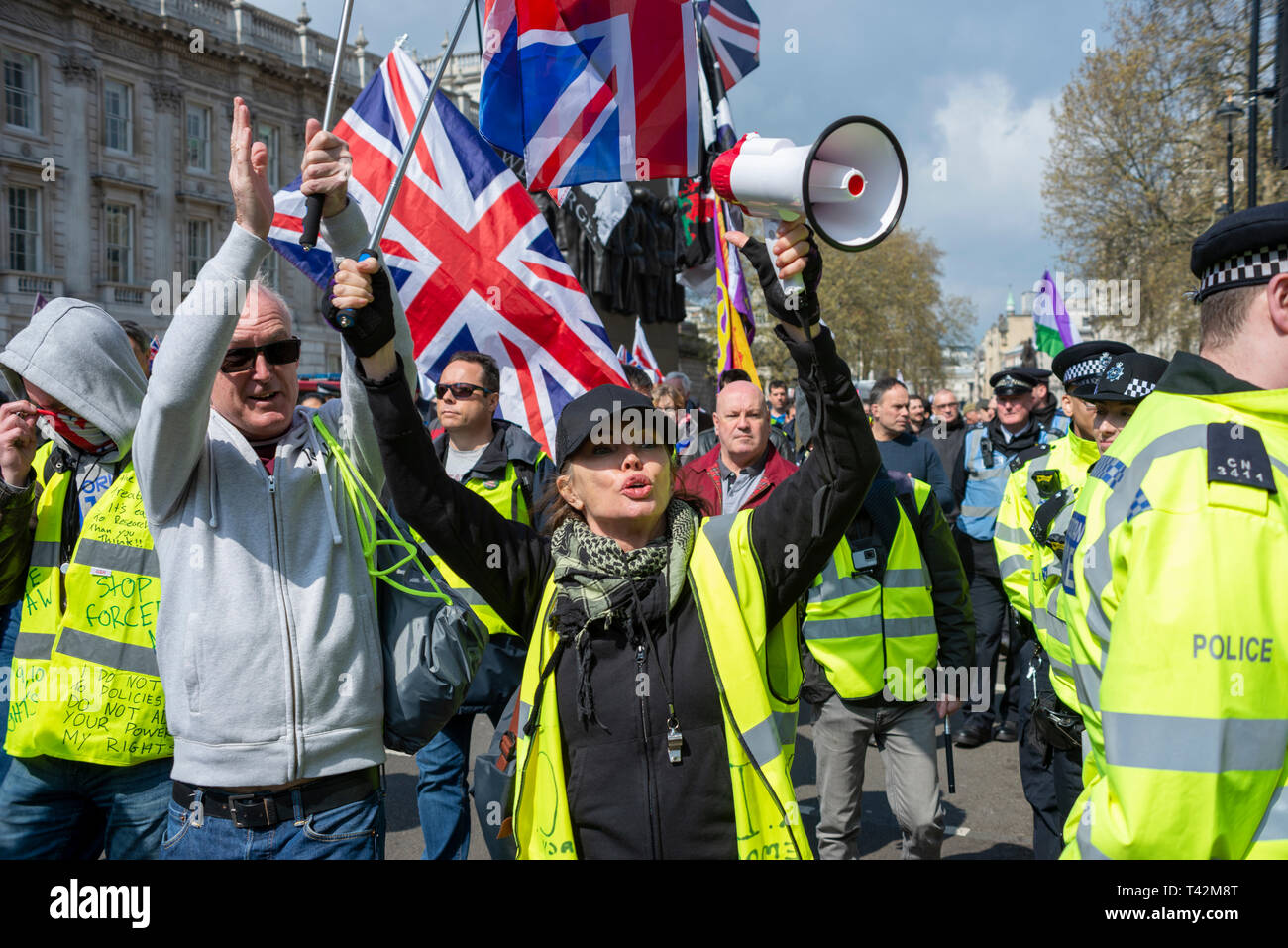 large-protest-in-favour-of-a-no-deal-brexit-yellow-vest-protesters-have-gathered-outside-downing-street-to-demonstrate-against-the-uk-governments-lack-of-progress-in-leaving-the-european-union-T42M8T.jpg