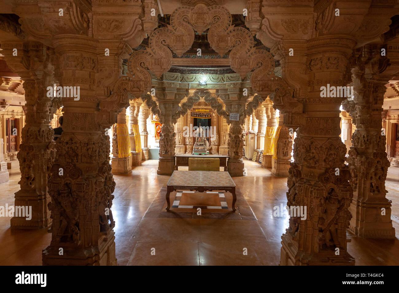Dilwara Jain Temple  jaisalmer, Rajasthan, India Stock Photo