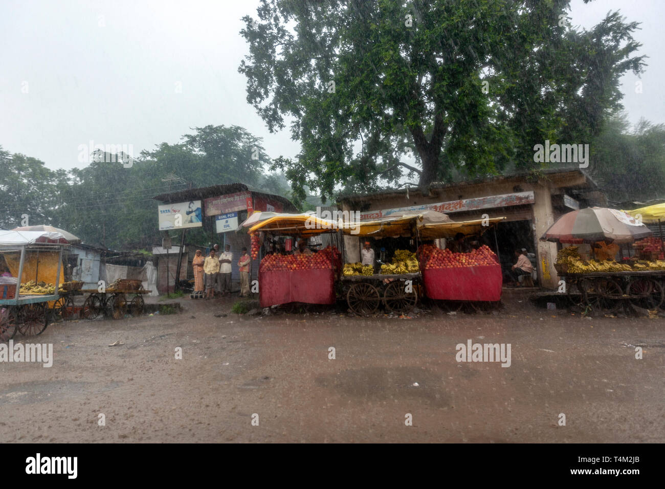 side-road-village-market-with-fruit-stal