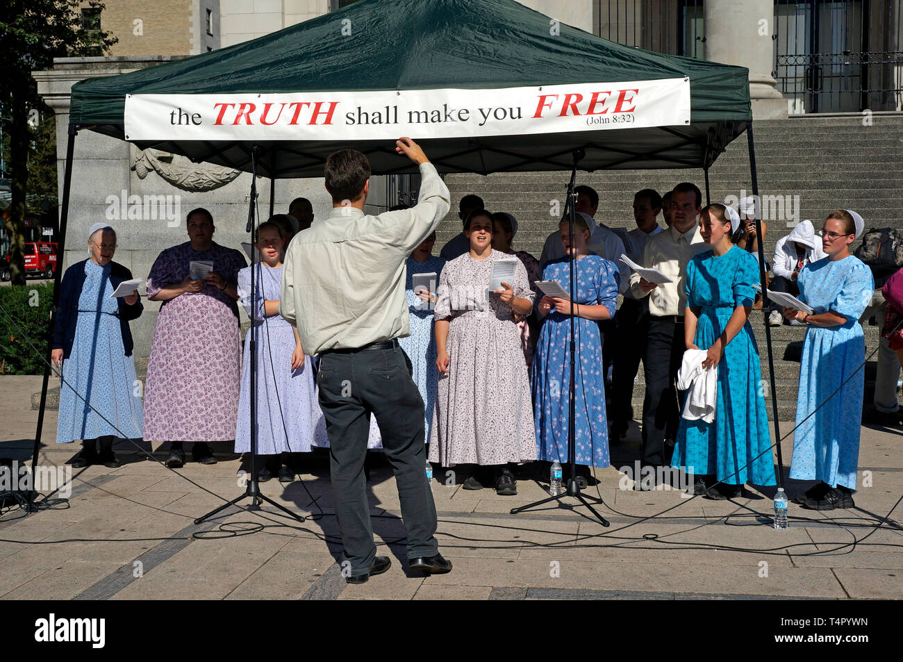 a-mennonite-choir-performing-in-downtown