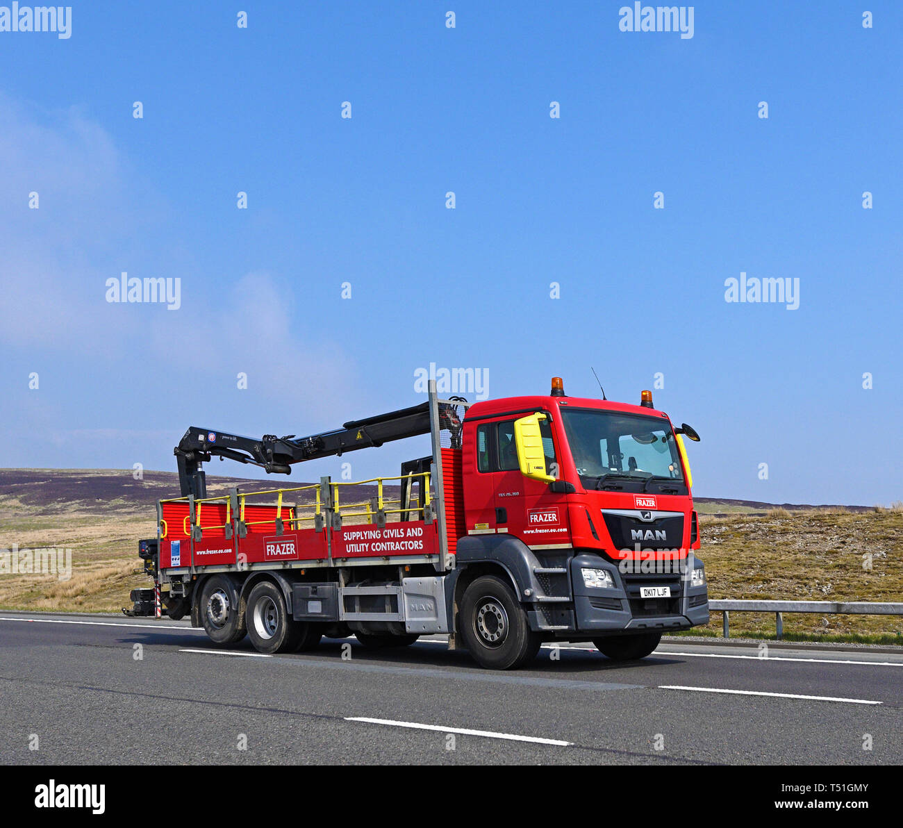 frazer-building-materials-hgv-m6-motorway-southbound-shap-cumbria-england-united-kingdom-europe-T51GMY.jpg