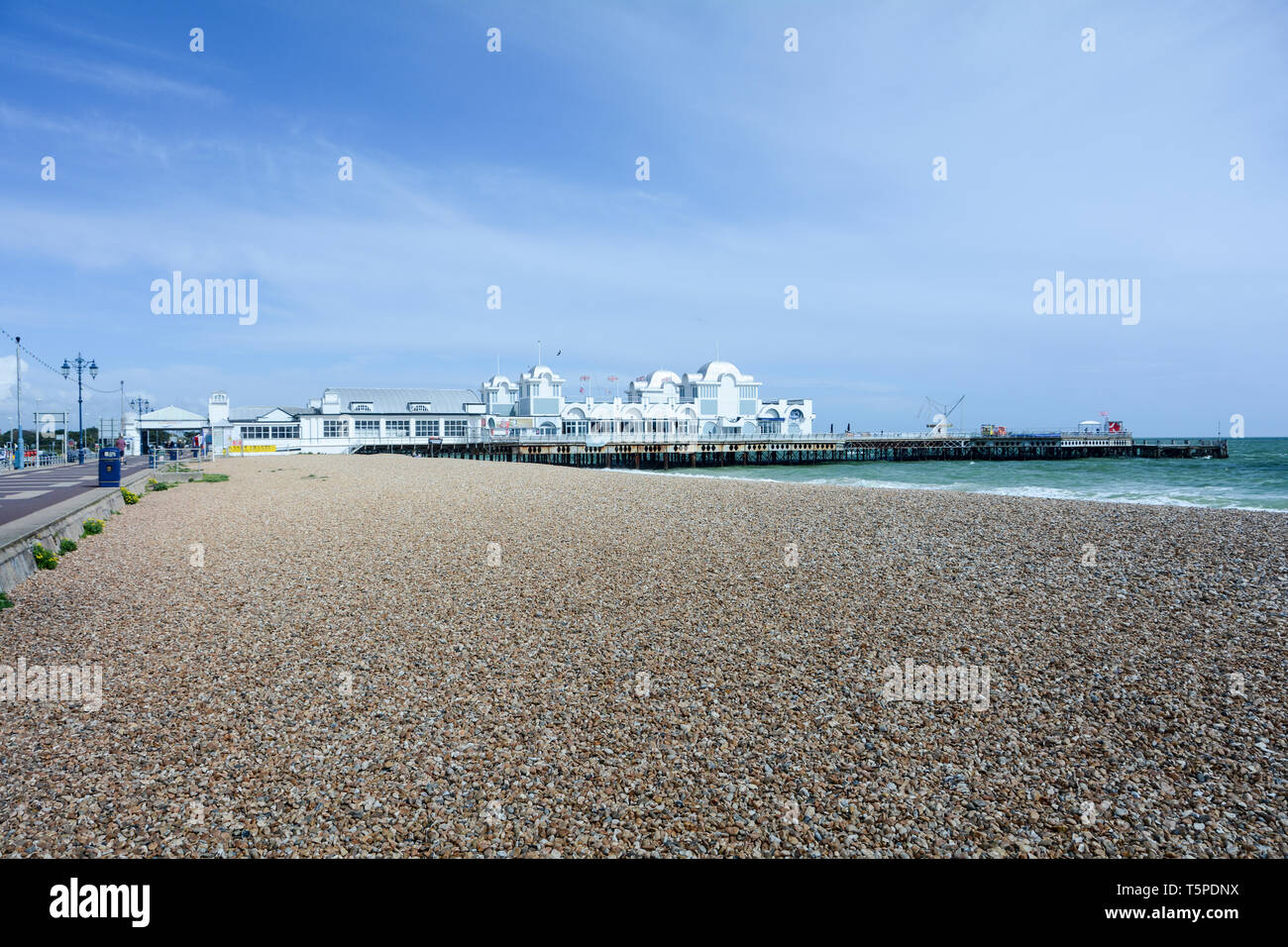South Parade Pier, Southsea, Hampshire, England, UK Stock Photo