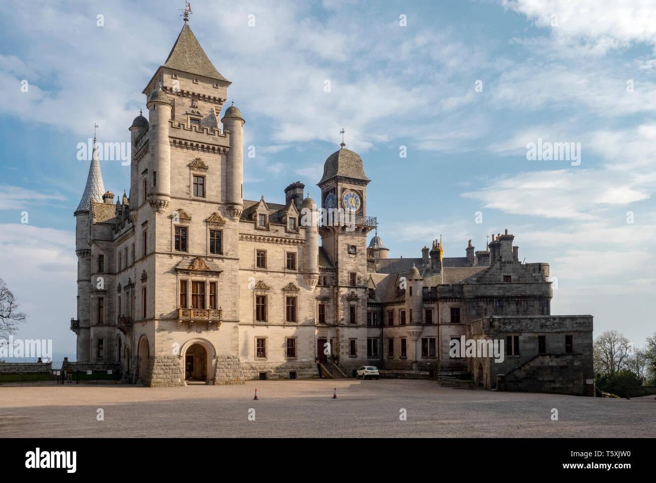 Dunrobin Castle, Scotland Stock Photo