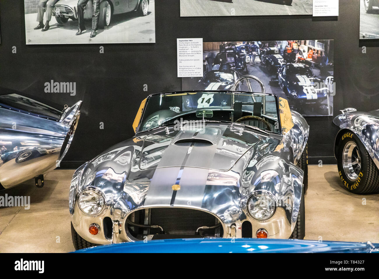 The Carroll Shelby museum a Tourist attraction in Las Vegas Nevada USA Stock Photo