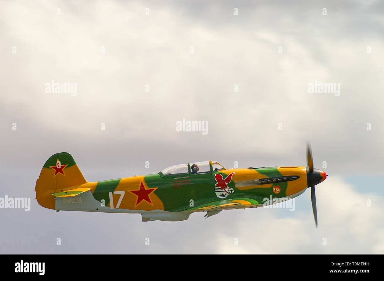 yakovlev-yak-9-d-fafa-owned-by-tempelhof-multipurpose-fighter-aircraft-used-by-the-soviet-union-in-world-war-ii-second-world-war-russian-plane-T9MENH.jpg