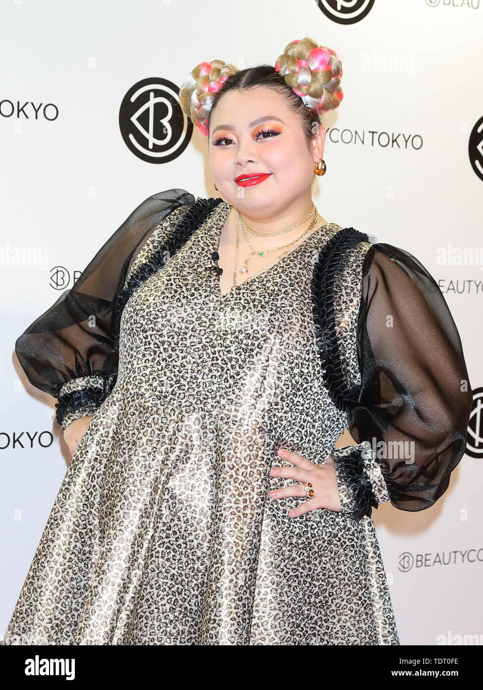 "Japanese comedienne Naomi Watanabe attends ""Beautycon Tokyo"" photocall in Tokyo, Japan on June 15, 2019. Credit: Motoo Naka/AFLO/Alamy Live News Stock Photo"