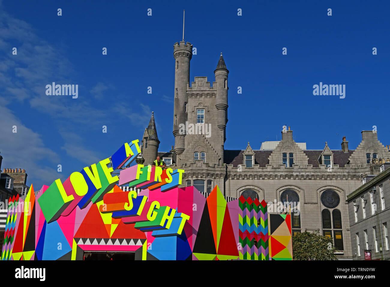 GoTonySmith,@HotpixUK,HotpixUK,North East,North East Scotland,Scottish,UK,City Centre,The Granite City,Northeast,Mercat,Aberdeen,Scotland,art,artist,installation,square,Art Festival 2019,art festival,artists,artworks,Look Again Festival,Castlegate