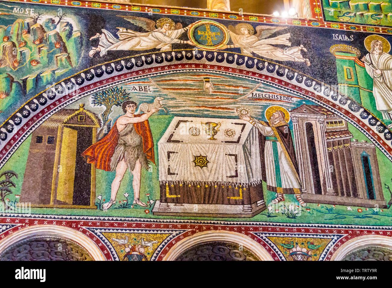 mosaic-of-abel-and-melchisedec-basilica-of-san-vitale-ad547-mosaic-ravenna-emilia-romagna-italy-TRTY9R.jpg