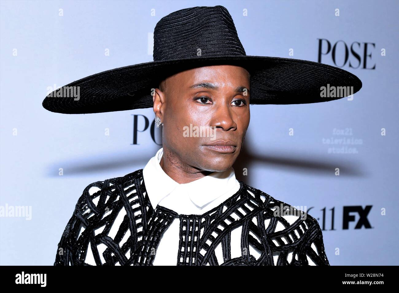 FX Networks Season 2 Premiere of Pose, held at the Paris Theatre - Arrivals. Featuring: Billy Porter Where: New York, New York, United States When: 06 Jun 2019 Credit: Joseph Marzullo/WENN.com Stock Photo